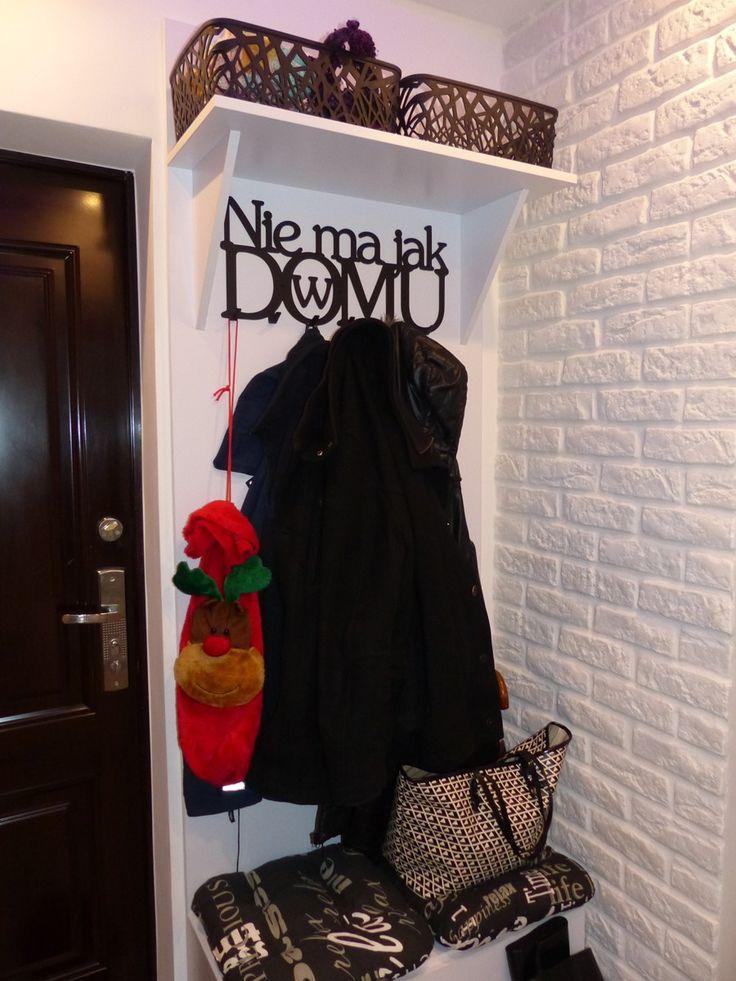 Nie ma jak w domu  - wieszak na ubrania - art-steel.pl #wieszak #ubrania #dekoracja #dekoracje #pomysł #pomysły #prezent #prezenty #wnętrze #dom #home #ozdoba #przedpokój #inspiracje
