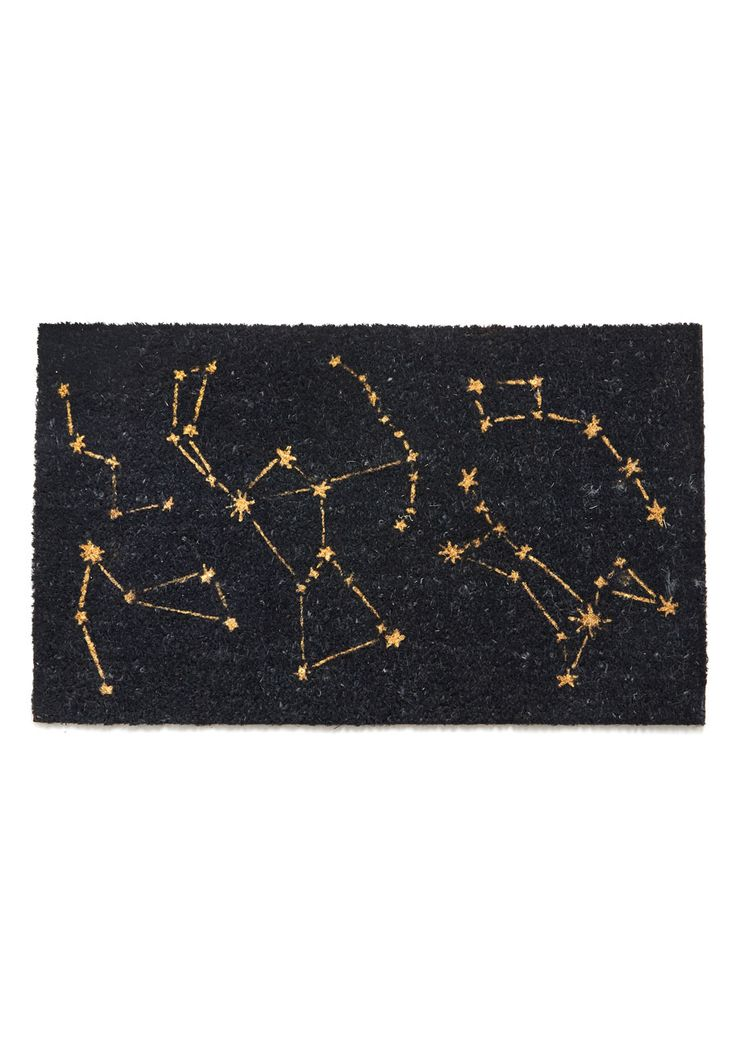 Constellation Bias Doormat, #ModCloth $34.99