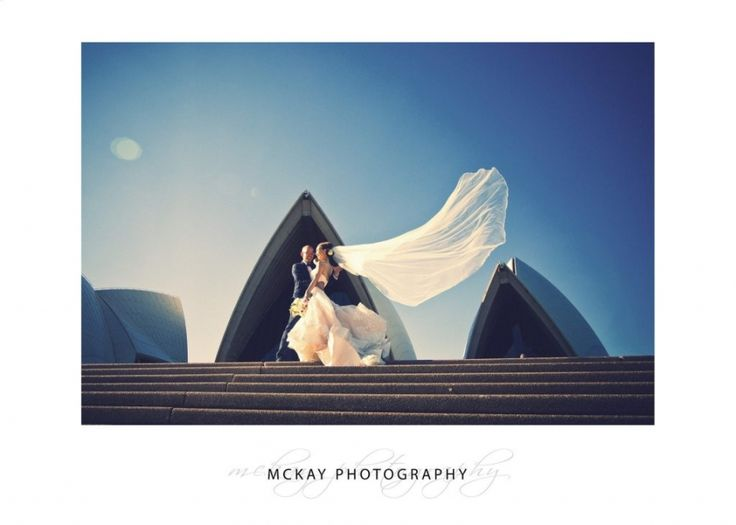 Flying veil at the Sydney Opera House