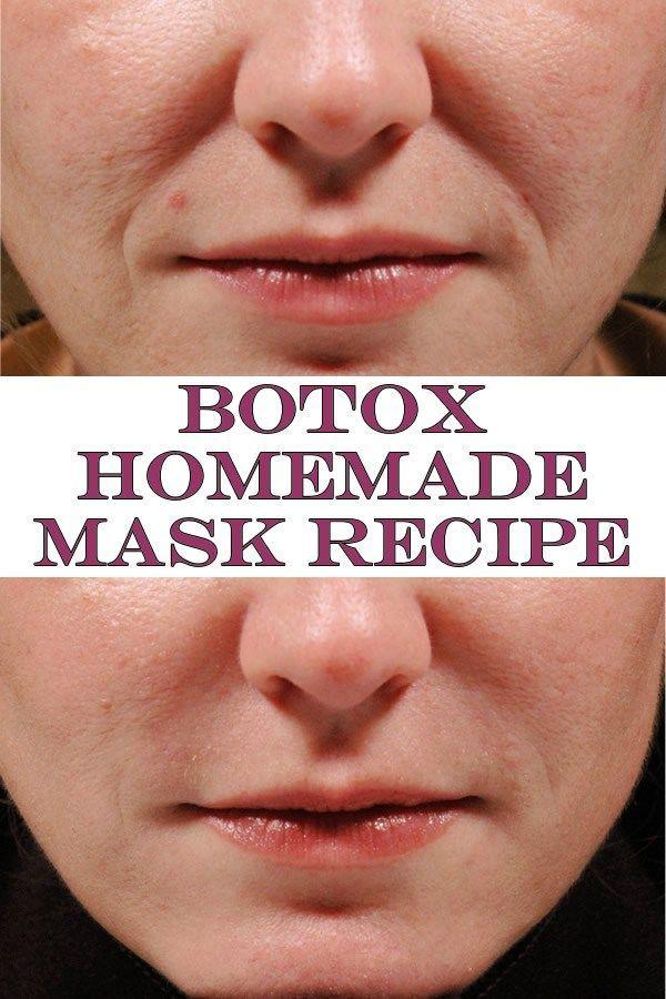 Botox Homemade Mask Recipe