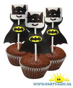 Afbeelding van Batman op cakeje