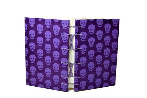 Halloween Book Bullet Journal Notebook by DoodleBugCreations24