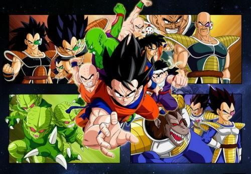 """Dragon Ball Z"" - Goku Silk Poster (24x36 inch) - FREE SHIPPING !!!"