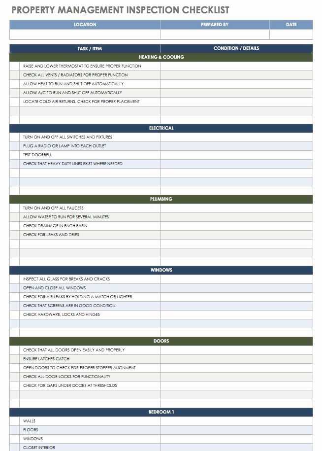 Property Management Template In 2020 Property Management Checklist Template Free Property
