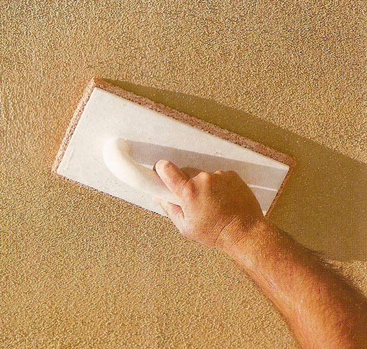 texturas en paredes rusticas | Mortero blanco o de tonos claros para acabados lisos (fleteado ...