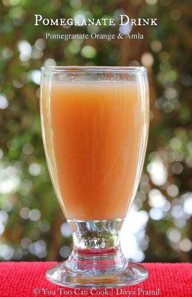 healthy fruit juice recipes pomegranate fruit