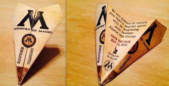 Inspiration : invitations et faire-parts sur le thème de Harry Potter - 2