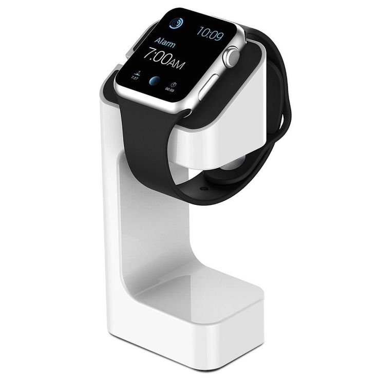 The Apple watch stand is the perfect companion for your new Apple Watch. You can place it on your bedside table or your desk at work. But this isn't just a stand for your Apple watch, its also a charging stand, all you need to do is place your cable into the stand.  #Applewatchstand #MobilePhoneAccessory #AppleWatch #aconnect #getconnected