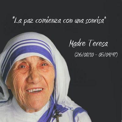 madre teresa de calcutá | Publicado por Judith Vega Mejía en 9/05/2012 12:18:00 p. m.