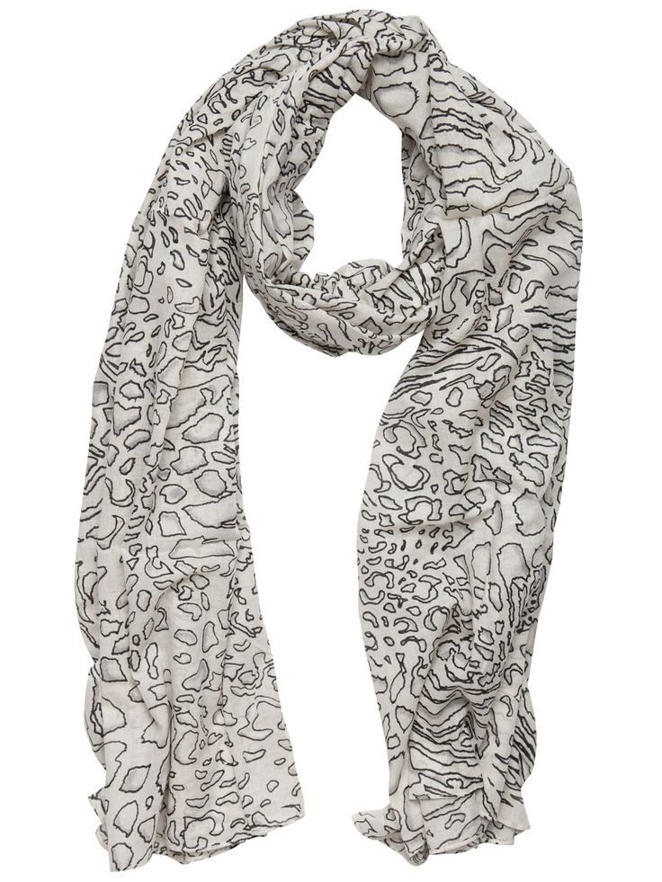 Light  Black N white Scarfs   www.premiumtowelexportindia.com