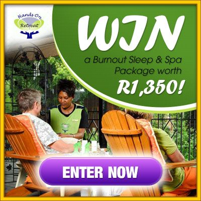 WIN a Burnout Sleep & Spa package worth R1,350!