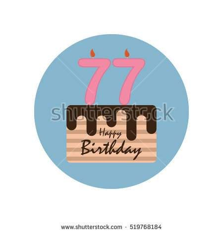 Happy Birthday Anniversary Numbers Candle