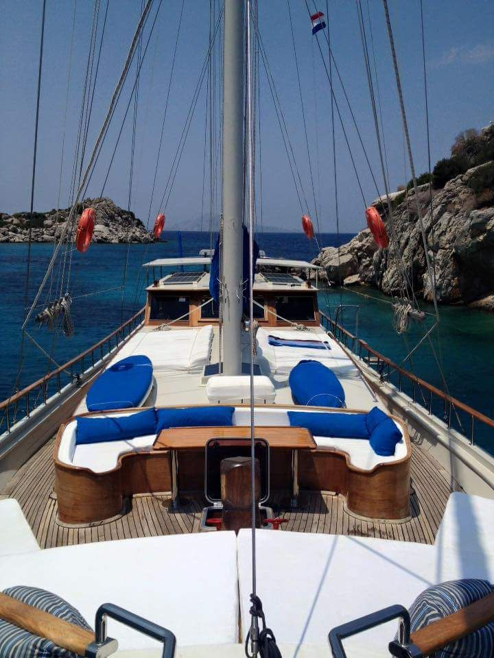 Really enjoying this weeks cruise, great skipper and crew, and great fellow travelers, a really happy boat.  I wanted to check if there is any availability for next week, Sat 27/8-Weds 31/8, or 1/9? (We fly out of Bodrum 12.40pm on Thursday 1/9). We would even consider a very small boat if price is right, and Gocek too (preferred in fact).