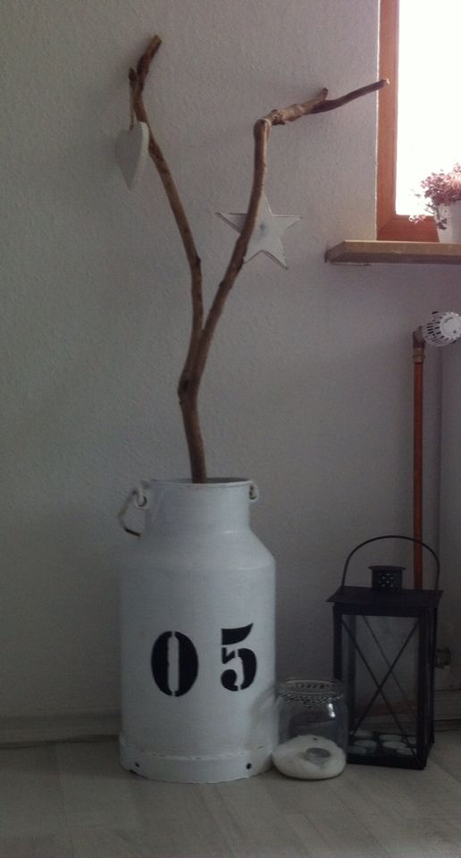 Milchkanne, Deko, DIY