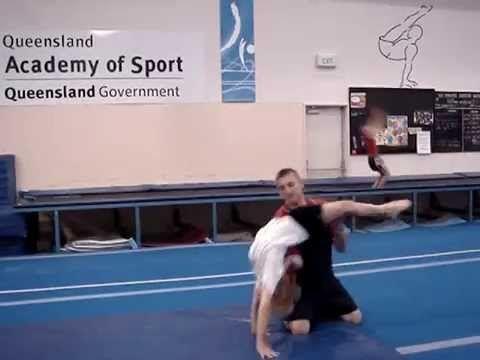 Floor Gymnastics Moves