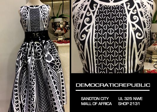 Our Look of the Day!!! Time to add some versatility to your wardrobe... with this beautiful dress, you'll do just that!! Find it Sandton City Shopping Centre