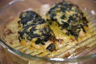 Karatay Yemekleri: Ispanaklı Peynirli Tavuk
