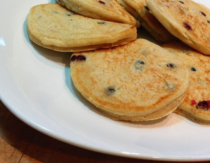 Blueberry Cornmeal Pancakes. Pancakes are so simple, why not switch it up with this variation on the classic blueberry pancake?