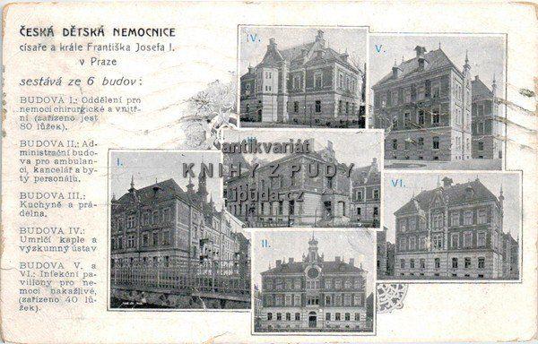 Praha: Česká dětská nemocnice, 1911