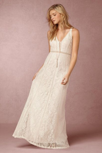I think this is my favourite! Beautiful laid back dress from BHLDN.