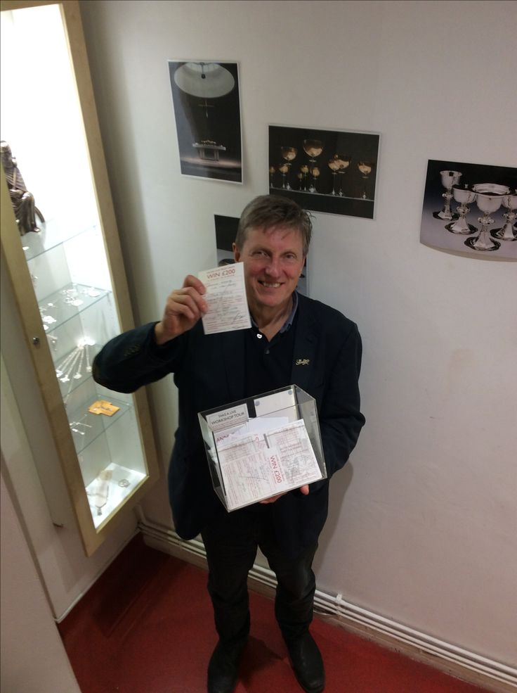 And the lucky winner is....! Our very own Anton Pruden drew our regular prize draw today. One lucky winner is about to receive a phone call from us saying they have won a £200 gift voucher. Existing and new customers can enter our prize draw by coming into the gallery and completing an entry form. #beinittowinit #prizedraw #prudenandsmith