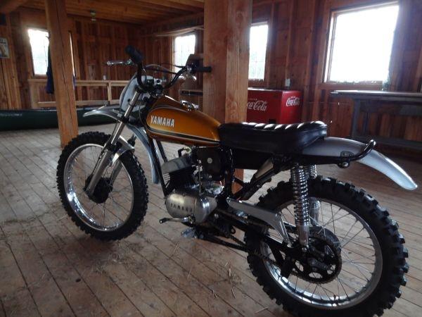 1973 Yamaha 175 enduro.