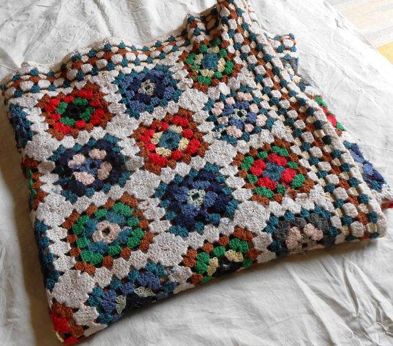 Coperta singola uncinetto in lana Merino  di cosediisa su Etsy, €300.00