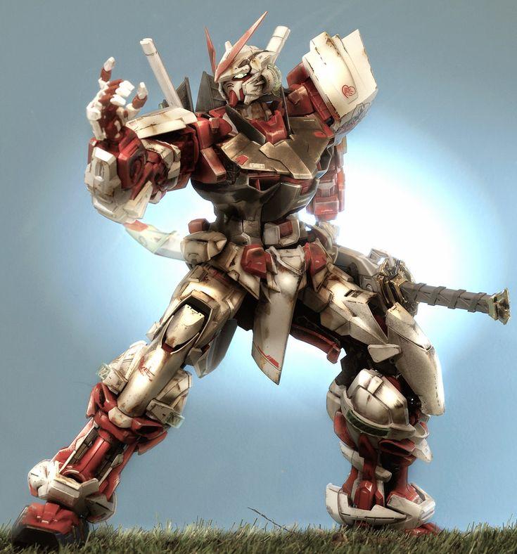 GUNDAM GUY: PG 1/60 Gundam Astray Red Frame - Painted Build