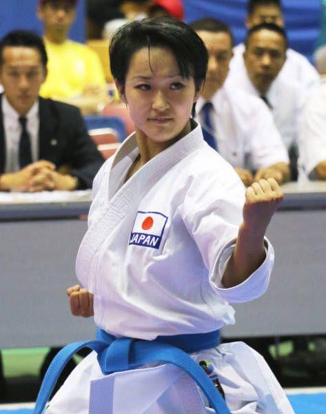 空手のプレミアリーグ沖縄大会の女子個人形で優勝した清水希容(関大)(沖縄県立武道館)(2014年08月30日) 【時事通信社】  ▼30Aug2014時事通信|空手女子 清水希容 写真特集 http://www.jiji.com/jc/d4?d=d4_mm&p=smk411-jpp017773615 #Kiyou_Shimizu #Karate_Womens_Individual_kata