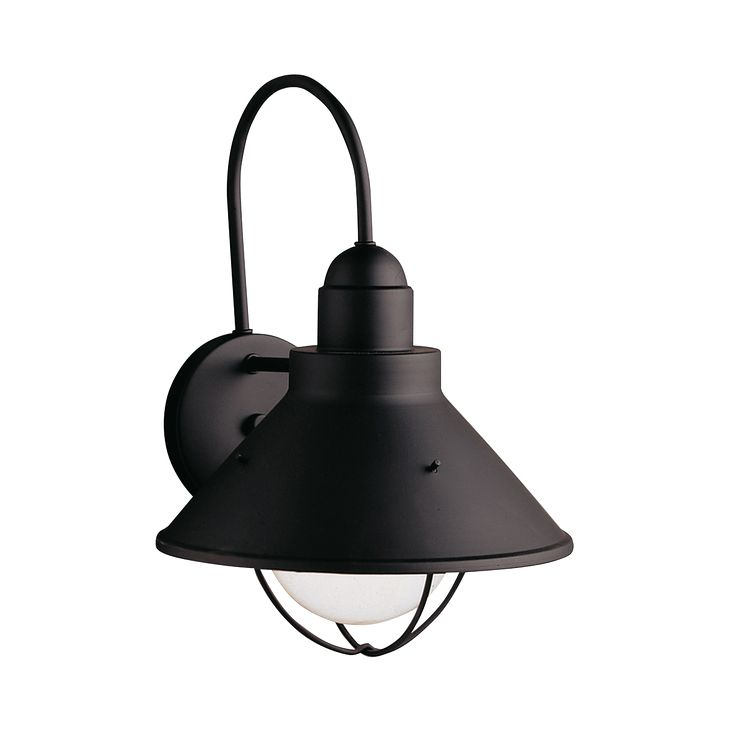 Seaside  14 5  Outdoor Wall light in Black   Kichler Lighting   pendant 18 best Outdoor Lighting images on Pinterest   Outdoor lighting  . Kichler Lighting Outdoor Sconce. Home Design Ideas