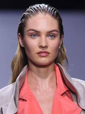 Perfectly polished brows at Rag & Bone .#NYWF
