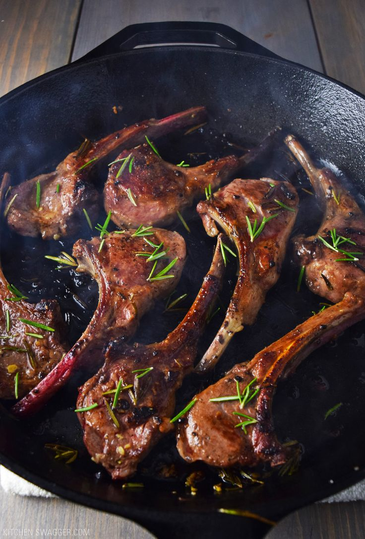 Lamb Lollipops with Garlic and Rosemary | Recipe ...