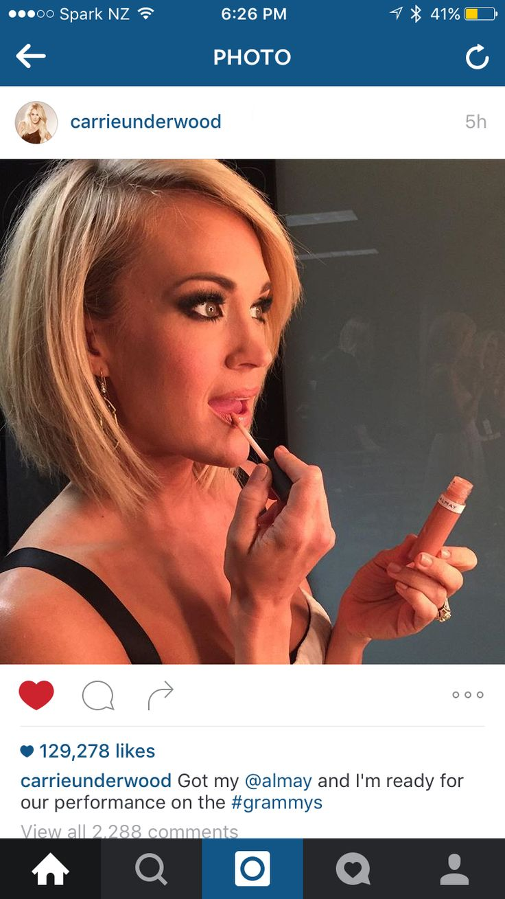 Carrie underwood short bob ❤️                                                                                                                                                                                 More