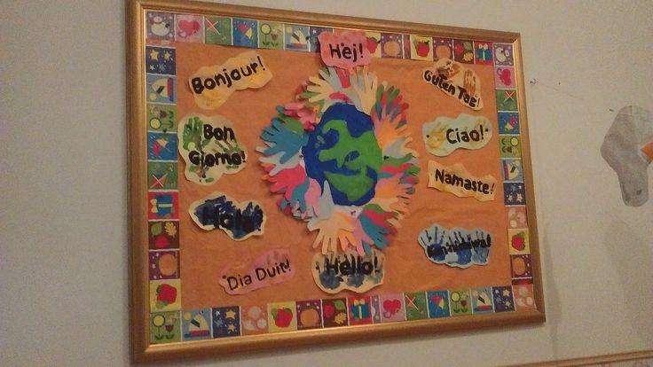 Early Years (Baby Acorns and Shiny Stars) hallway display @AcornsNursery