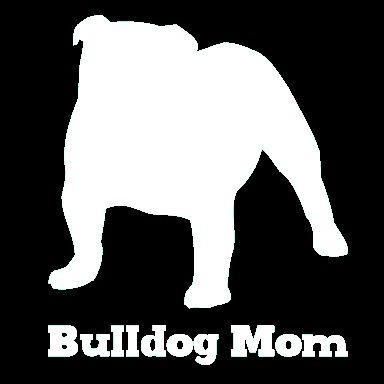 This vinyl bulldog car window decal is for the proud bulldog mom. It's the perfect addition to your car window to show your pride in your fur kid and it's made to last. Our decals are made from high q