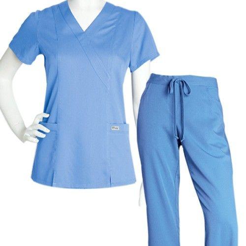 Uniforme quirúrgico para dama que incluye filipina y pantalón. Tallas: Chica, mediana, grande, extra grande.