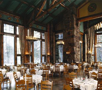 The Majestic Yosemite Hotel Dining Room. The crown jewel of Yosemite dining, the award-winning restaurant is both magnificent and intimate.