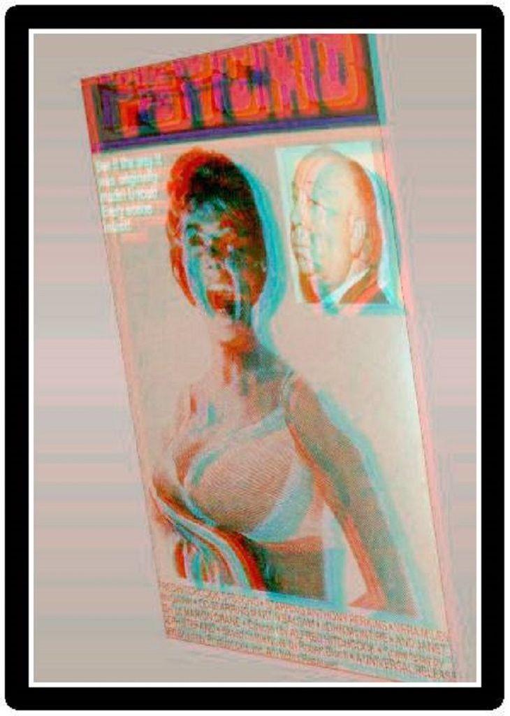 3D Images - PSYCHO 3-D CONVERTED