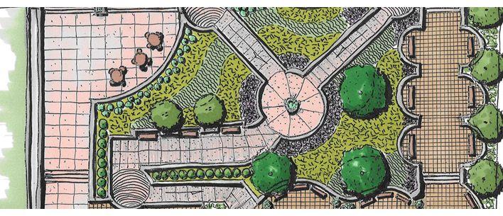 Beautiful Landscape Architecture Plan beautiful landscape architecture plan - home design ideas
