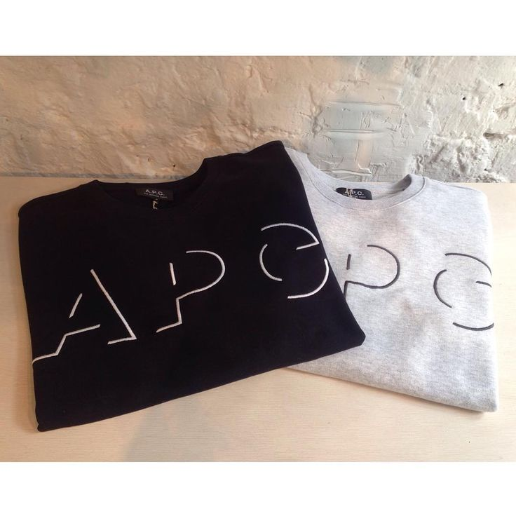 Some new Fall 15 pieces have arrived from A.P.C. Including this appliqué shadow logo sweat in navy & grey marl. Available now in store and online. S-XL, £115.  #new #seftonfashion #newseason #aw15 #apc #apcparis #london #sefton #menswear #fashion #newcollection #sweatshirt #jumper #clothing