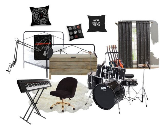 """""""Dream room o.O"""" by abeanfromouterspace on Polyvore featuring interior, interiors, interior design, home, home decor, interior decorating, John Lewis and Yamaha"""