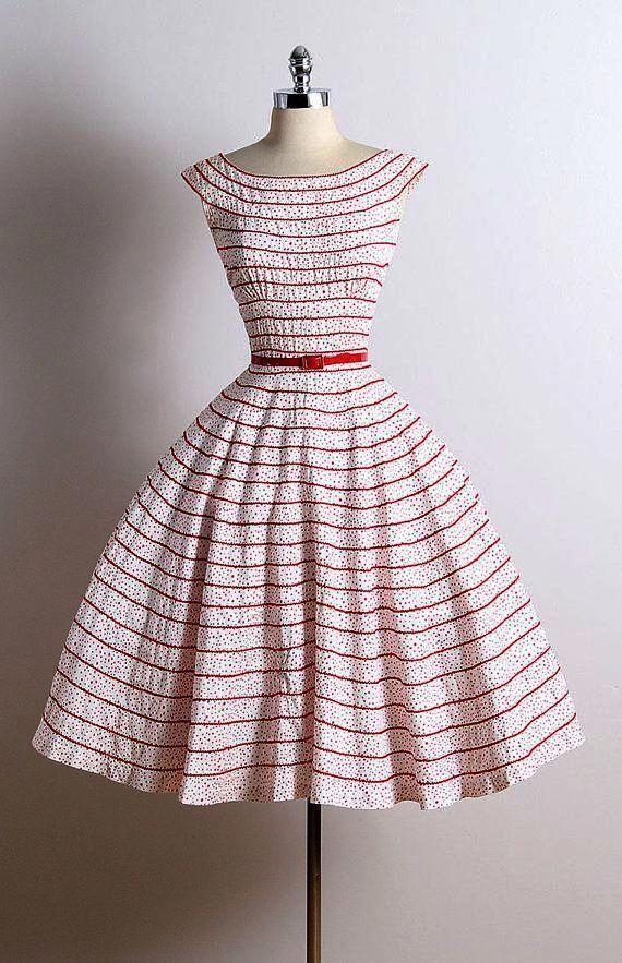 No Way Vintage 1950 S Wedding Dresses Uk Superb Vintage1950sdresseswedding Vintage Dresses 50s Vintage Dresses Vintage Polka Dot Dress