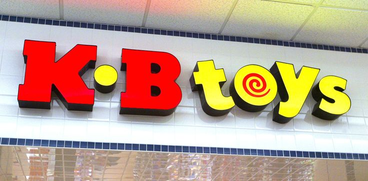 NORRIDGE, IL - JANUARY 30: KB Toys signage is visible atop the entranced to its store January 30, 2004 in Norridge, Illinois. Pittsfield, Massachusetts-based KB Toys says it will close 375 stores nationwide including this Norridge, Illinois store. (Photo by Tim Boyle/Getty Images) via @AOL_Lifestyle Read more: https://www.aol.com/article/finance/2017/01/26/teen-retailer-wet-seal-is-suddenly-closing-all-of-its-stores/21663718/?a_dgi=aolshare_pinterest#fullscreen
