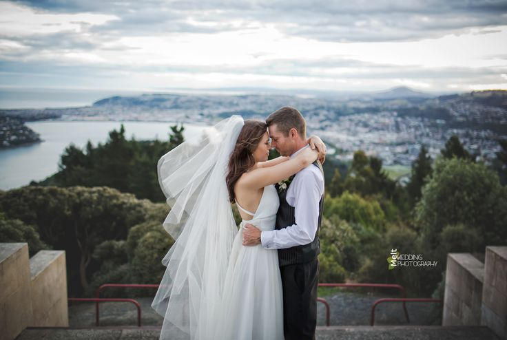 Malcolm & Emma admiring the view..of each other! http://www.weddings.meltnz.co.nz/
