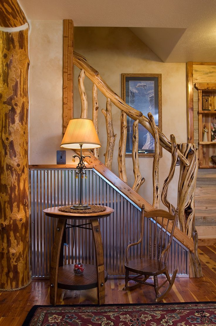 Corrugated-Wainscoting-Stairs-Rustc-Interior-Design