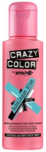 image de coloration crazy color bubblegum blue - Schwarzkopf Coloration Semi Permanente