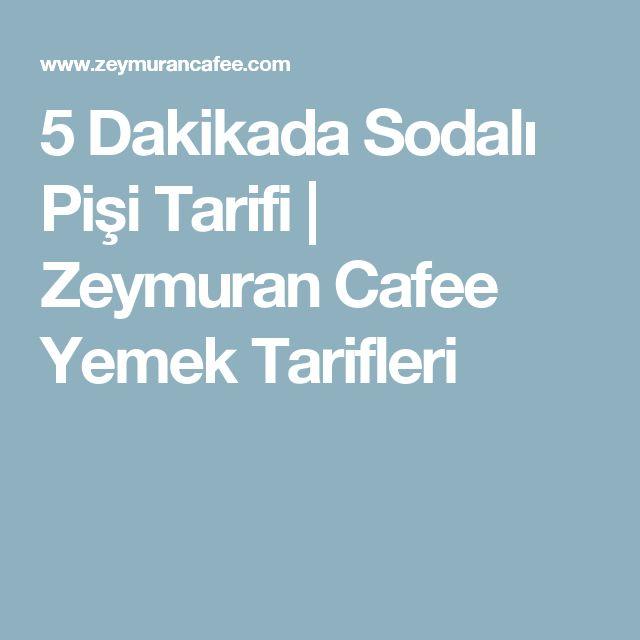 5 Dakikada Sodalı Pişi Tarifi   Zeymuran Cafee Yemek Tarifleri