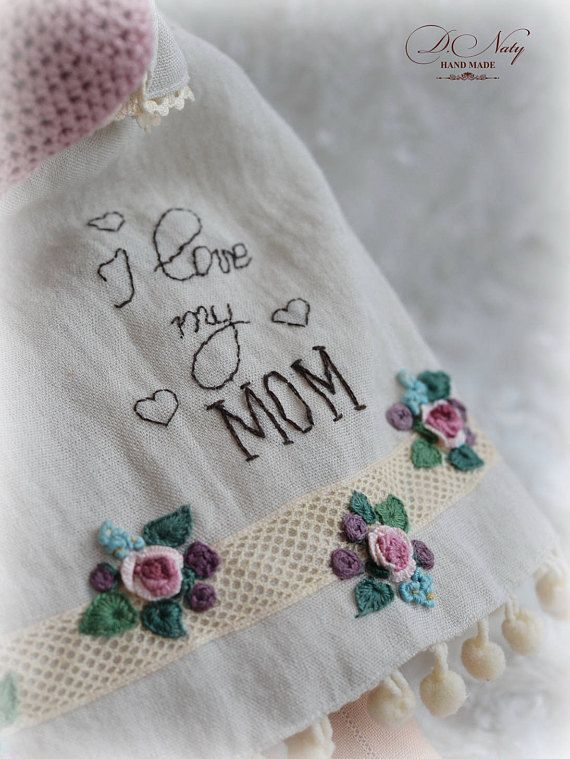 Angel for Mom Tilde Interior doll Gift to mom Textile doll