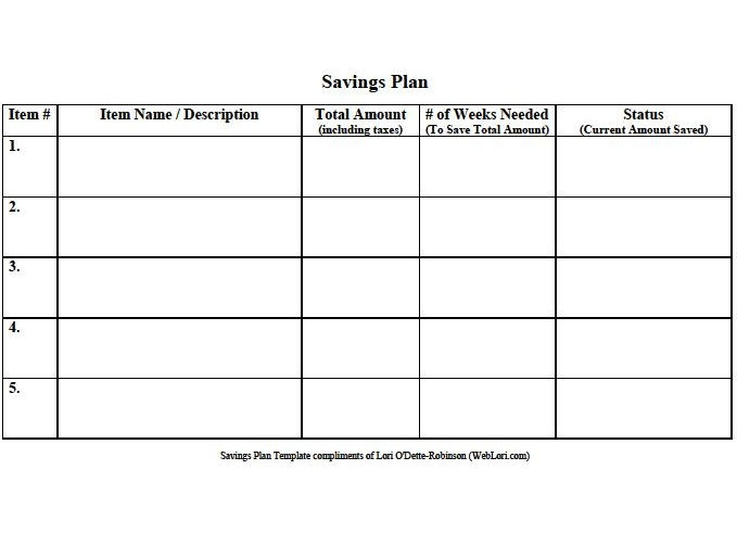 savings planner template - 12 best images about free budgeting templates on pinterest