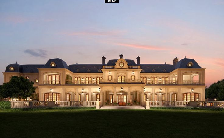 french mega mansion | ... mark wahlberg s 34000 square foot french inspired mega mansion that is